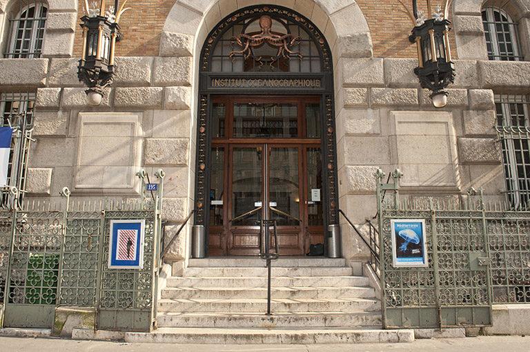 Facade du Musée Océanographique de Monaco