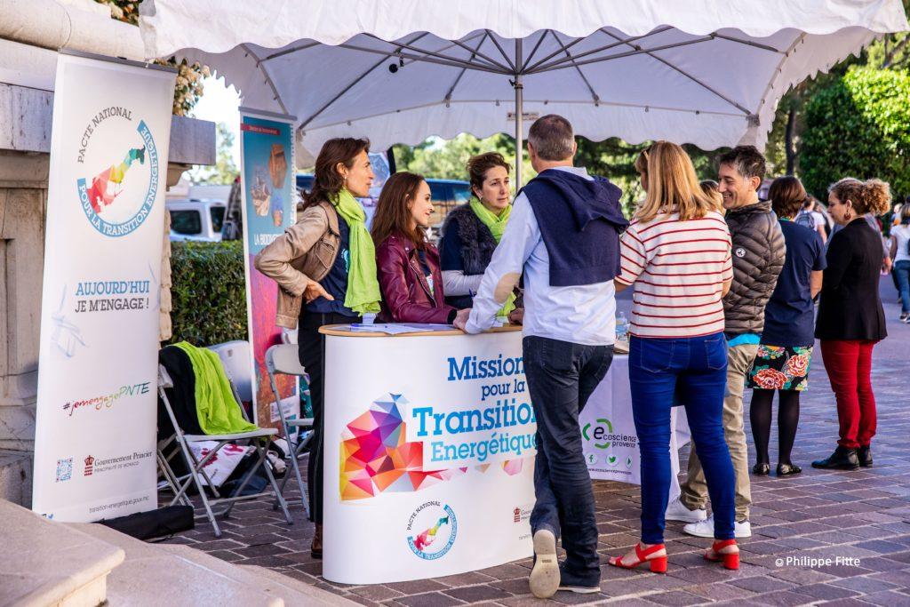 Stand de la transition énergétique Fête du Musée Association des Amis du Musée océanographqiue