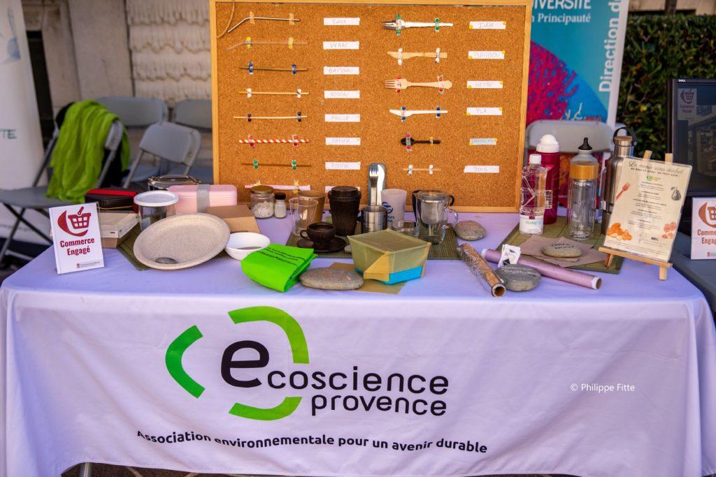 stand écoscience provence Fête du Musée, Association des Amis du Musée océanographique