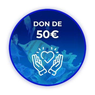 Donation de 50 euros